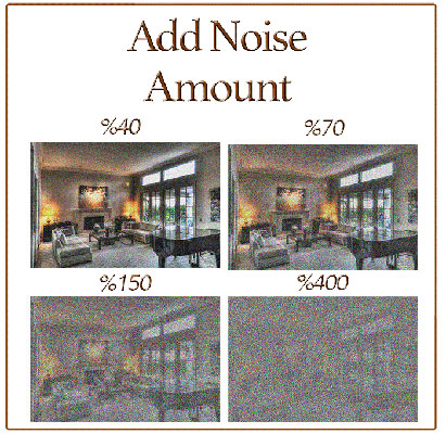 The Add Noise Filter