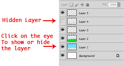 Show And Hide Layers Demonstration