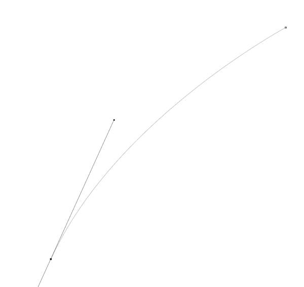 StraightLines Turned Into Curve