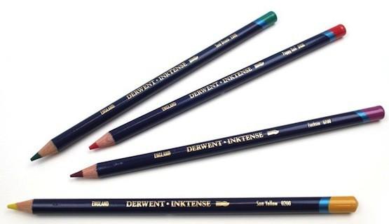 Derwent Inktense Pencils Barrels