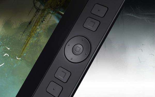 Wacom Cintiq 13 Pen and Touch Express keys & rocker pad.