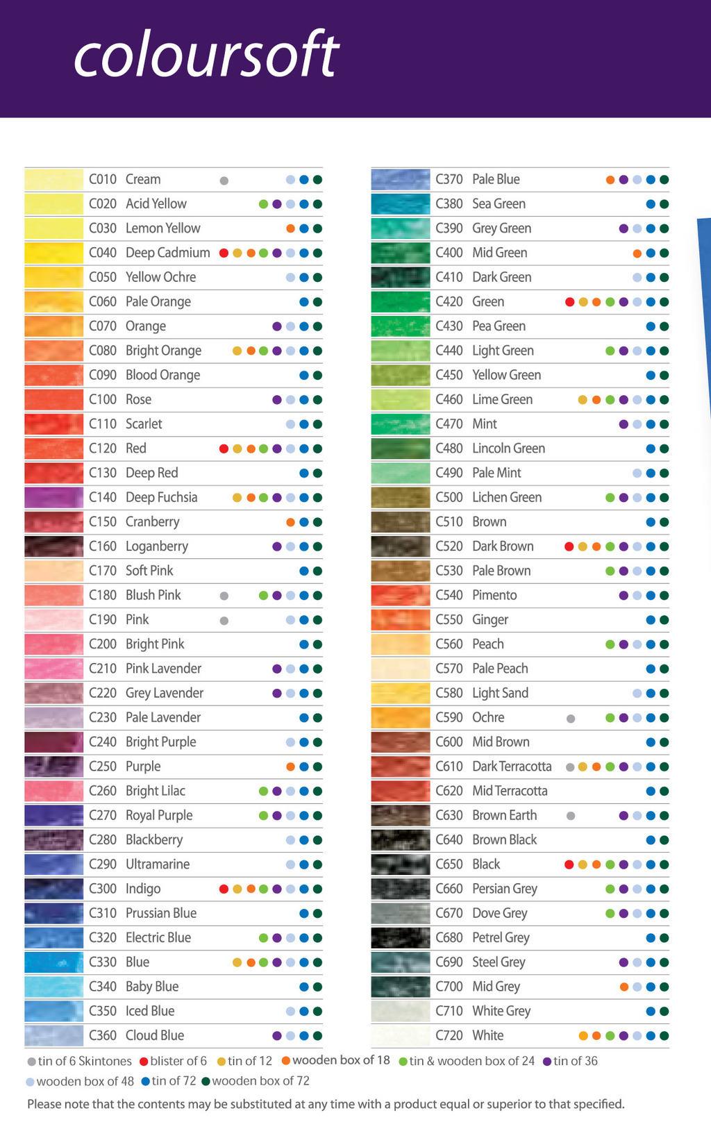 Derwent Coloursoft Pencils 12 Tin