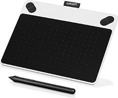how to use intuos draw