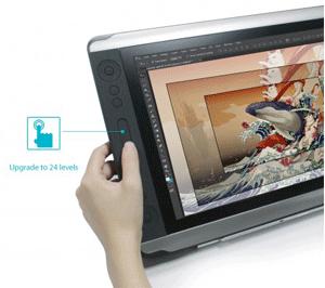 Touchbar-Zooming
