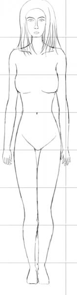Human-Head-7.5-Heads-Tall