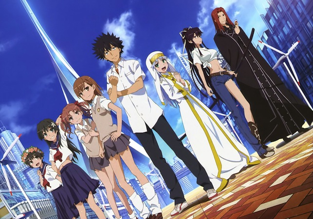 Various characters from A Certain Magical Index