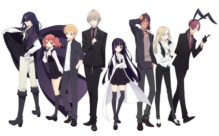 Characters of Inu x Boku SS Review / Inu X Boku Secret Service)