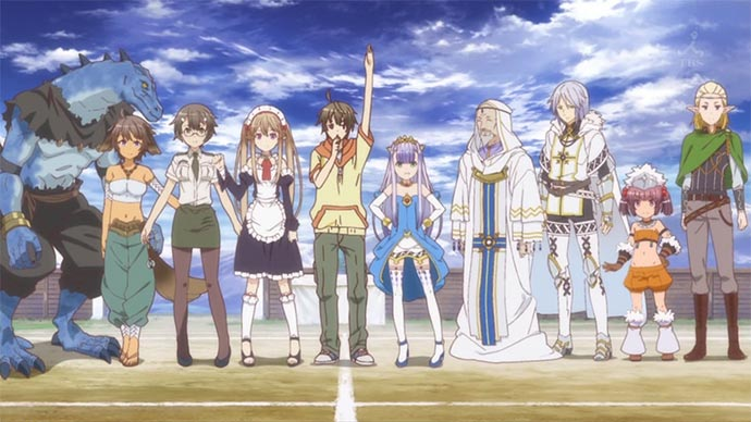 Outbreak Company Characters