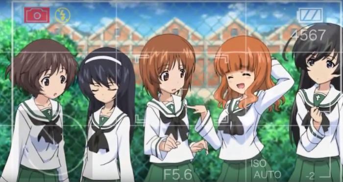 Girls Und Panzer Opening