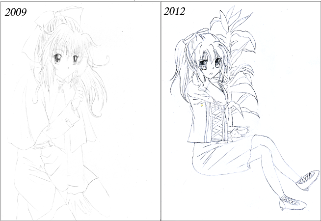 Drawing improvement kurumi