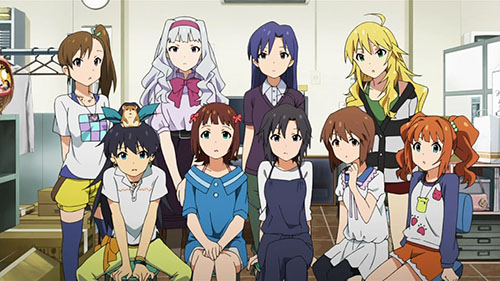 Idol M Ster Anime Characters : The idolm ster review anime sweet