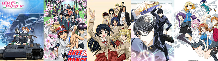 Monia's Best Comedy Anime Recommendations List Featured Image